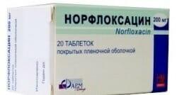 норфлоксацин 3