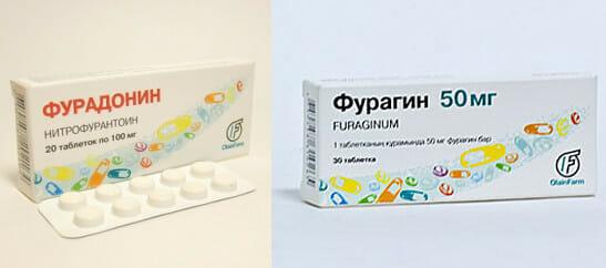 Фурагин или Фурадонин что эффективнее при цистите: разница