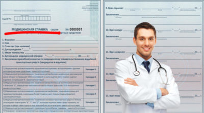 Медицинская справка из ГАИ онлайн